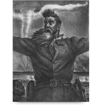 John Steuart Curry, <i>John Brown</i>, 1939