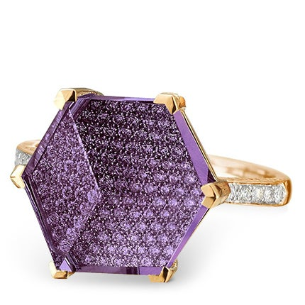 Paolo Costagli Amethyst and Diamond Ring, 2018