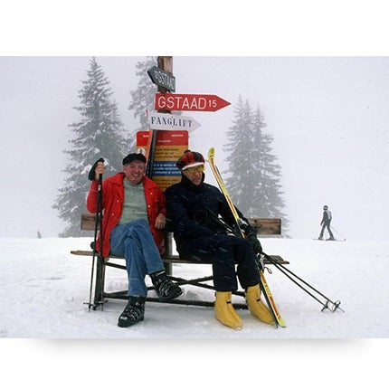 Slim Aarons, <i>Skiing Holiday</i>, 1977