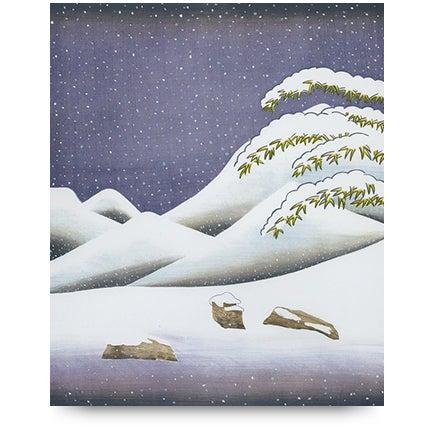 David Hockney, <i>Snow</i>,  1973