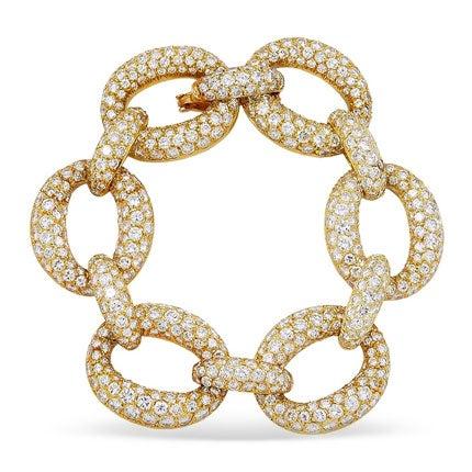 Van Cleef & Arpels Diamond Bracelet, 1970s