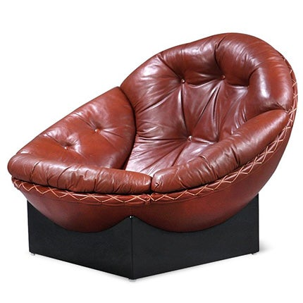 Illum Wikkelsø Lounge Chair, 1970