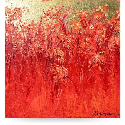 Chicorée, <i>Grasses, Gold Foil</I>, 2013