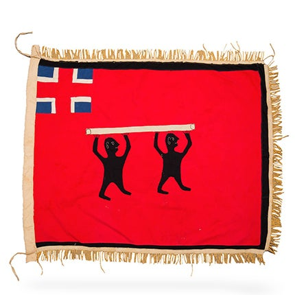 Fante Asafo Flag, 20th Century