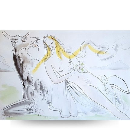 Salvador Dalí, <i>Le Viol d'Europe</i>, 1971