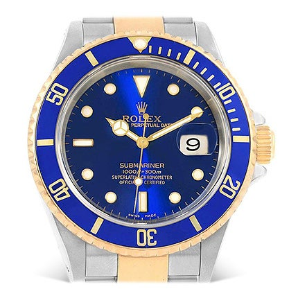 Rolex Submariner Watch, 2002