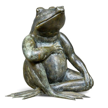 Bronze Garden Ornament, 20th Century