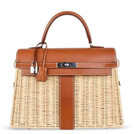 Hermès 35 Picnic Kelly Bag, 21st Century