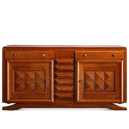 Charles Dudouyt Sideboard, 1940s
