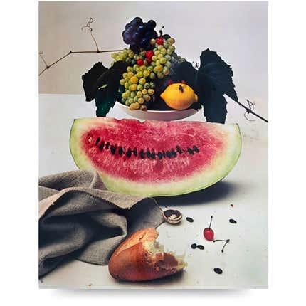 Irving Penn, <i>Still life with Watermelon, NY</i>, 1948