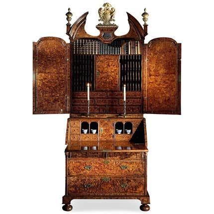 Queen Anne Cabinet,  1710