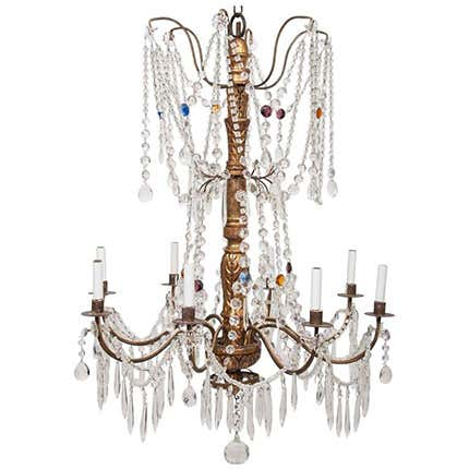 Crystal Chandelier, 18th Century
