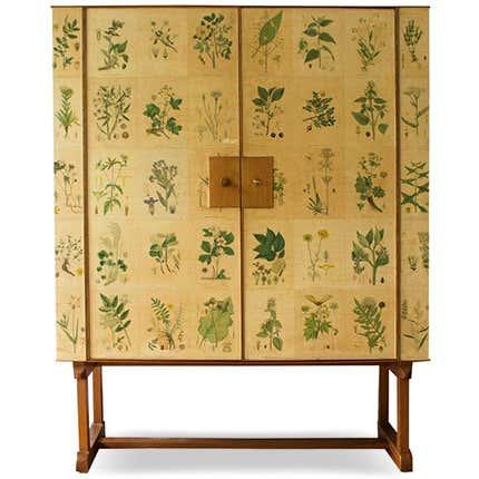 Josef Frank Flora Cabinet, 1950s