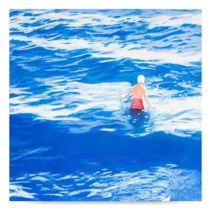 Isca Greenfield-Sanders, <i> Wader II (Blue)</i>, 2012