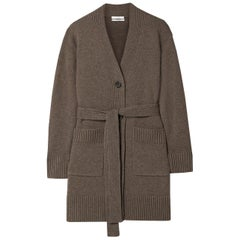 Co Belted Wool & Cashmere Blend Cardigan