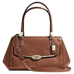 Coach 25169 Brown Leather Satchel Ladies Shoulder Bag