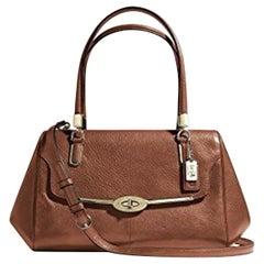 Coach 25169 Brown Leather Satchel Ladies Shoulder Bag