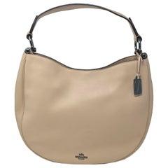 Coach 36026 Nomad Hobo Beige Leather Ladies Purse