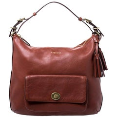 Coach Chestnut Leather Legacy Courtenay Hobo