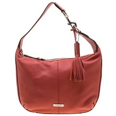 Coach Coral Leather Small Avery Hobo