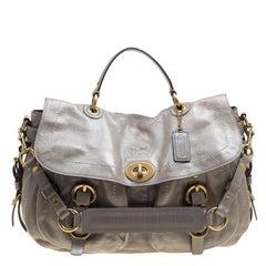 Coach Vintage Archive Cognac Leather Round Crossbody Shoulder Bag at ... b222f27499af5