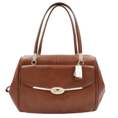 Coach Madison Madeline 25166 Brown Leather Ladies Satchel