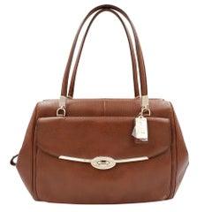 Coach Madison Madeline 25166 Brown Leather Ladies Satchel