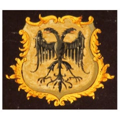 Coach, Panel, 18 Century, English, George III, Coat of Arms, or, Gilded, Eagle