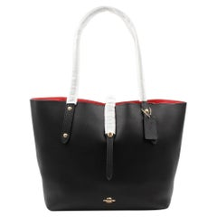 Coach Polished Pebbled Leather Market Women's Tote 58849