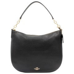 Coach Polished Pebbled Leather Women's Chelsea 32 Hobo Bag 58036