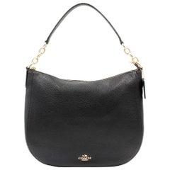 Coach Polished Pebbled Leather Women's Chelsea 32 Hobo Bag 58036