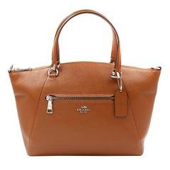Coach Prairie Satchel Silver Women's Handbag 58874