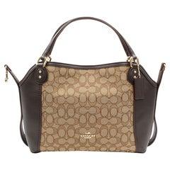 Coach Signature Edie 28 Ladies Medium Multi Shoulder Handbag 57934