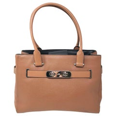 Coach Swagger 36514 Pebble Leather Carryall Large Satchel Saddle Ladies Bag