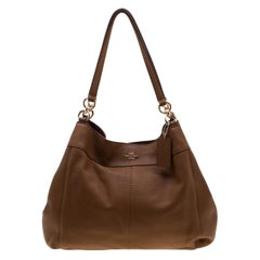 Coach Tan Leather Lexy Tote