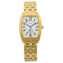 Coach W120 Gold-Plated Steel Silver Arabic Dial Quartz Ladies Watch 14500190