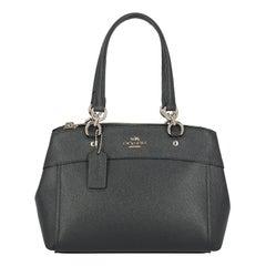 Coach Woman Handbag Navy Leather