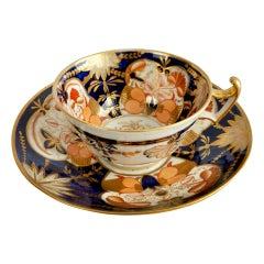 Coalport John Rose Porcelain Teacup, Imari, Regency, ca 1815