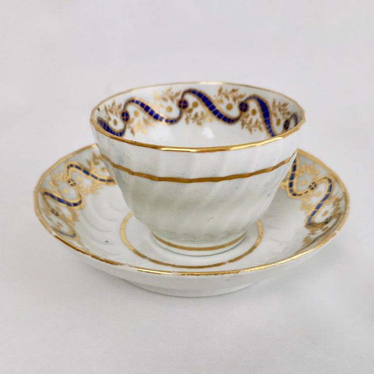 Coalport John Rose Tea Service, circa 1795 For Sale 4