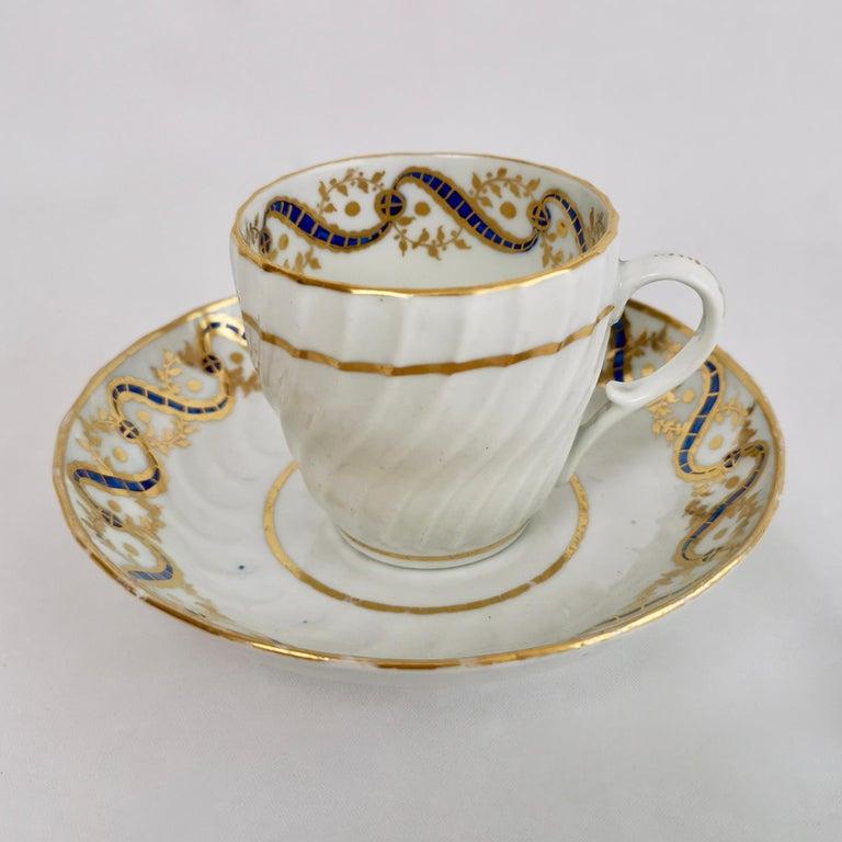 Coalport John Rose Tea Service, circa 1795 For Sale 5