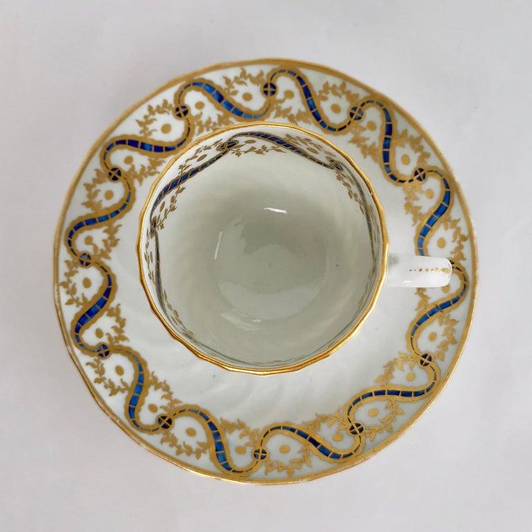 Coalport John Rose Tea Service, circa 1795 For Sale 7