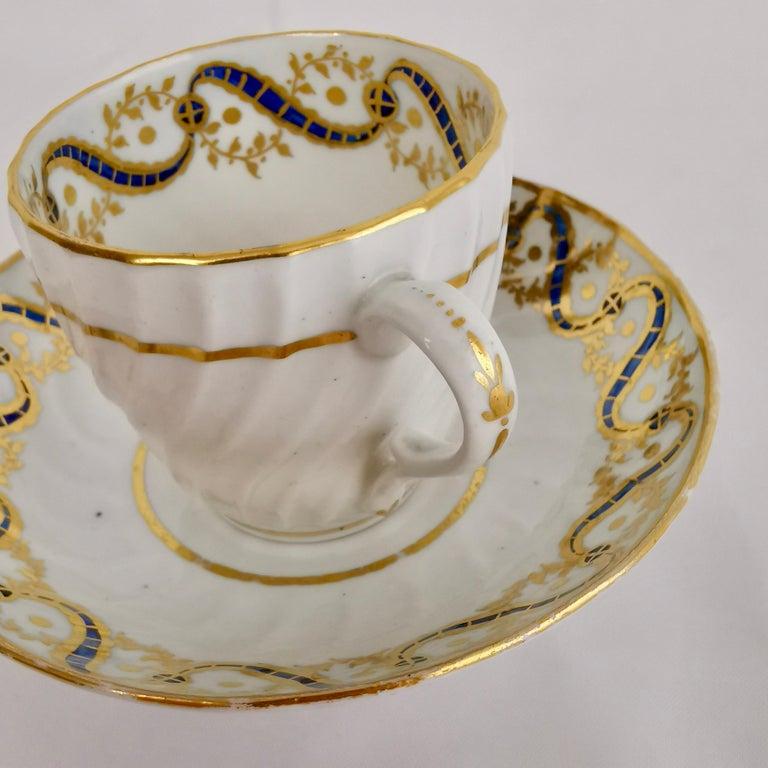 Coalport John Rose Tea Service, circa 1795 For Sale 9