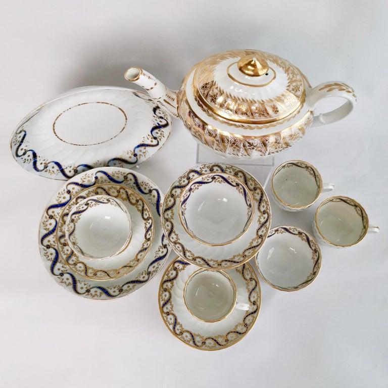 Coalport John Rose Tea Service, circa 1795 For Sale 13