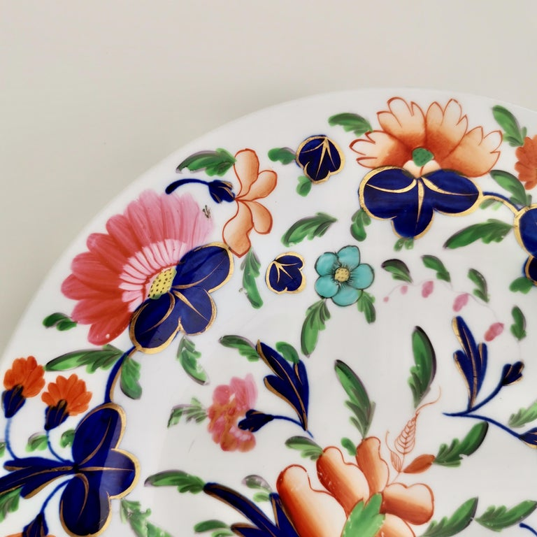 Coalport Porcelain Plate, Imari Pattern, Regency, circa 1820 For Sale 2
