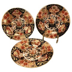 Coalport Soup Plates, Early 19th Century