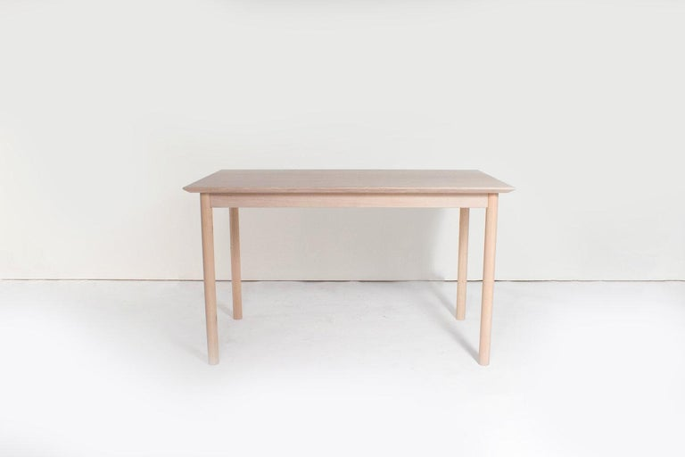 Sun at Six is a contemporary furniture design studio that works with traditional Chinese joinery masters to handcraft our pieces using traditional joinery. The coast table can be used as a desk or dining table. Fits perfectly in small space or urban