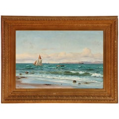 Coastal Painting by Holger Lübbers