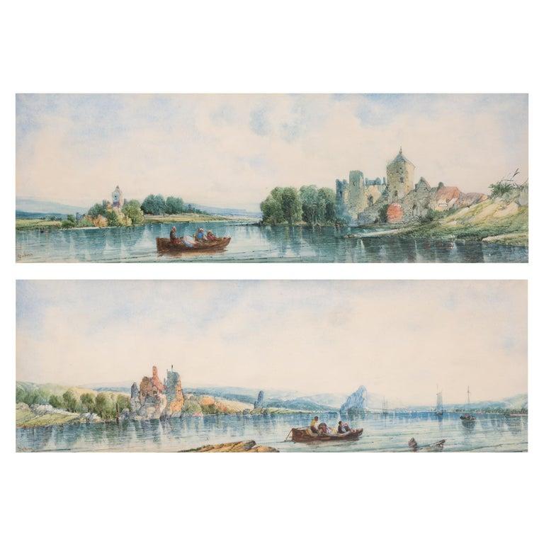 (1853-1907). United Kingdom watercolor on paper; 7 1/4