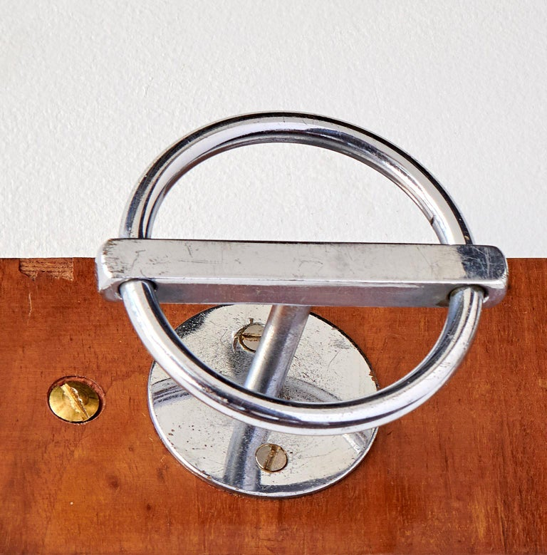 Brass Coat Rack by Jean Royère For Sale