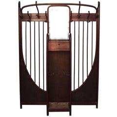 Coat Rack by Michael Thonet 8 Coat Hooks, circa 1900